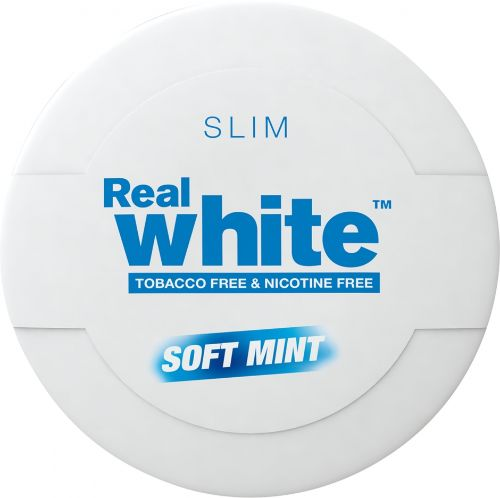 Real White Soft Mint Slim - KickUp in the group Snuff at cigge.se|store (100157)