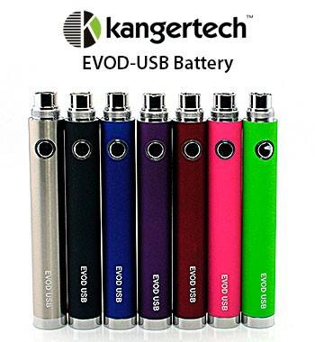 KangerTech - Evod 650mAh Battery in the group Landing Pages / Mods at cigge.se|store (268)