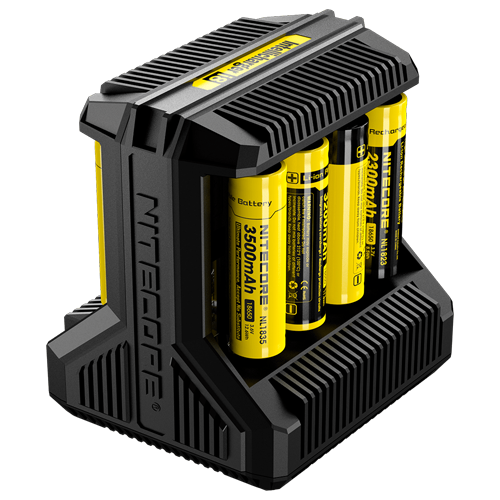 Nitecore i8 Multi-Slot Intelligent Charger in the group Landing Pages / Accessories / Charger at cigge.se|store (53195)