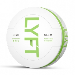 LYFT Lime Slim All White Portion