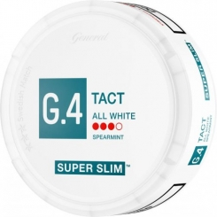 G.4 TACT Super Slim All White Portion