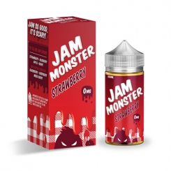 Strawberry Jam (Shortfill) - Jam Monster