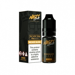 Bronze Blend (10ml, 20mg Nic Salt) - Nasty Juice