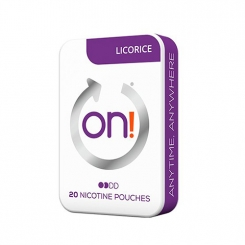 on! Licorice Mini Pouches
