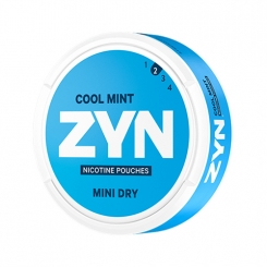 ZYN Cool Mint Mini Dry Portion